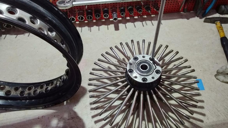 Ακτινολόγηση τροχού Harley Davidson